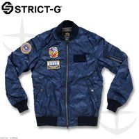 STRICT-G�~ALPHA MA-1 FLIGHT JACKET �y16S/S �A�M�R���f���z