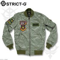 STRICT-G×ALPHA MA-1 FLIGHT JACKET 【16S/S ジオン軍モデル】