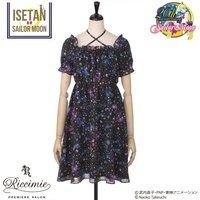 【Riccimie PREMIERE SALONコラボ】美少女戦士セーラームーン  コズミックプリントパフドレス