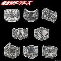 仮面ライダーシリーズ45周年記念 ベルトモチーフ プレートリング silver925 (仮面ライダーディケイド〜ゴースト)