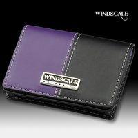 仮面ライダーW WIND SCALE レザーカードケース(ブラック×パープル)