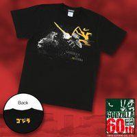 『ゴジラVSモスラ』柄Tシャツ