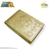聖闘士星矢 30周年メモリアル 黄金聖衣箱(ゴールドクロスボックス)本革名刺ケース 牡羊座