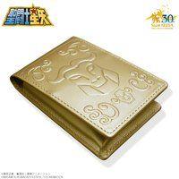 聖闘士星矢 30周年メモリアル 黄金聖衣箱(ゴールドクロスボックス)本革名刺ケース 牡牛座