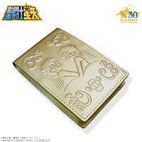 聖闘士星矢 30周年メモリアル 黄金聖衣箱(ゴールドクロスボックス)本革名刺ケース 双子座