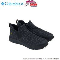 "ジョジョの奇妙な冒険×Columbia コラボ YU3882 Smallwood(TM) Slip WP Special  ""JOJO""#010 BLACK"