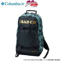 "ジョジョの奇妙な冒険×Columbiaコラボ PU3036 Third Bluff(TM) SP Backpack ""JOJO""#347 SURPLUS GREEN CAMO"