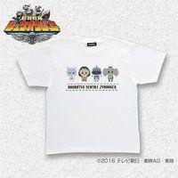 動物戦隊ジュウオウジャー ドットビット ジューマンTシャツ こども用