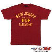 仮面ライダードライブ 詩島剛Tシャツ laboratory ニュージャージー