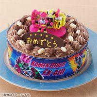 キャラデコお祝いケーキ 仮面ライダーエグゼイド(チョコクリーム)