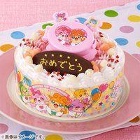 キャラデコお祝いケーキ かみさまみならい ヒミツのここたま(5号サイズ)