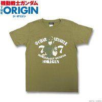 機動戦士ガンダム THE ORIGIN Tシャツ(シャア柄)