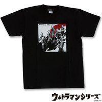菅原芳人計画 ウルトラ6兄弟Tシャツ(ブラック)
