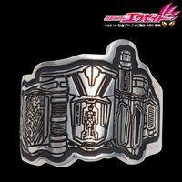 仮面ライダーシリーズ45周年記念 ベルトモチーフ プレートリング silver925 (仮面ライダーエグゼイド)