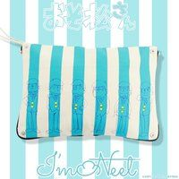 ����������~HTML ZERO3�~BANDAI I'm Neet Six Stripe Clutch Bag (�N���b�`�o�b�O)