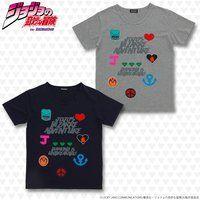 ジョジョの奇妙な冒険 ワッペンTシャツ クレイジー・ダイヤモンド