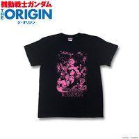 機動戦士ガンダム THE ORIGIN キービジュアル柄Tシャツ