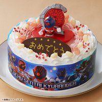 キャラデコお祝いケーキ 宇宙戦隊キュウレンジャー(5号サイズ)
