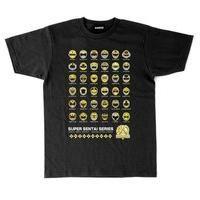 スーパー戦隊シリーズ40作品記念 歴代イエロー フェイスTシャツ(S〜XL)