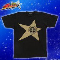 宇宙戦隊キュウレンジャー 「テンビンゴールド」なりきり風デザインTシャツ