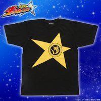 宇宙戦隊キュウレンジャー 「カジキイエロー」なりきり風デザインTシャツ