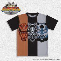 【2017年3月発送】動物戦隊ジュウオウジャー ジュウオウザワールドTシャツ 大人用
