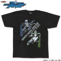 仮面ライダーゴーストRE:BIRTH 「仮面ライダースペクター」Tシャツ(スペクター&ネクロム キック柄)