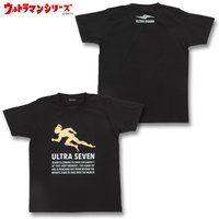 ウルトラマンシリーズ ウルトラセブン シルエットTシャツ