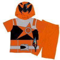 宇宙戦隊キュウレンジャー 変身半袖パジャマ サソリオレンジ