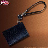 JOJO's wallet series リール付レザーパスケース