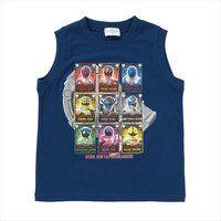 宇宙戦隊キュウレンジャー Tシャツセレクションノースリーブ リアルグラフィック柄A