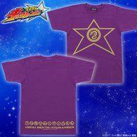 宇宙戦隊キュウレンジャー なりきり風デザインTシャツ  リュウコマンダー