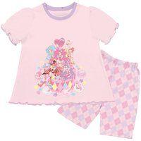 キラキラ☆プリキュアアラモード キリンミルクレープ付き半袖Tスーツパジャマ