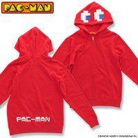 パックマン パーカー(ゴースト/レッド)