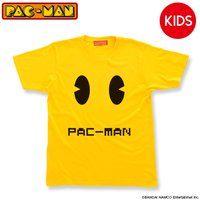 パックマン 顔柄 Tシャツ こども用