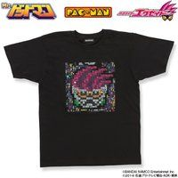 Mr.ドットマン「仮面ライダーエグゼイド×パックマン」Tシャツ