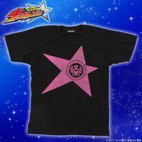 宇宙戦隊キュウレンジャー 「ワシピンク」なりきり風デザインTシャツ【2次受注】