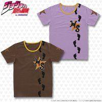 ジョジョの奇妙な冒険 ワッペンTシャツ ハイウェイスター