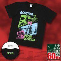 ゴジラ誕生60周年記念『メカゴジラ』アメコミ柄Tシャツ【再入荷】