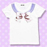 美少女戦士セーラームーン なりきりセーラーTシャツ(セーラーサターン柄)【8月お届け】