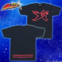 宇宙戦隊キュウレンジャー なりきり風デザインTシャツ ホウオウソルジャー