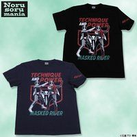 仮面ライダー×ノルソルマニア コラボ Tシャツ(技の1号・力の2号柄)