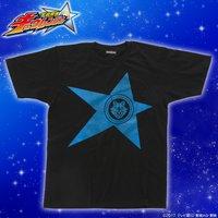 宇宙戦隊キュウレンジャー 「オオカミブルー」なりきり風デザインTシャツ【再入荷】