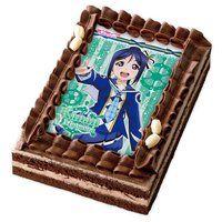 [キャラデコプリントケーキ]ラブライブ!サンシャイン!!  松浦果南(チョコ)