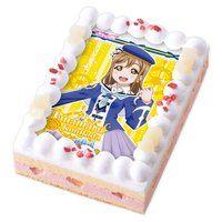 [キャラデコプリントケーキ]ラブライブ!サンシャイン!! 国木田花丸