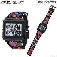 EPSON smart canvas仮面ライダーエグゼイド&仮面ライダーシリーズ腕時計『 平成ジェネレーションズFINAL』記念モデル