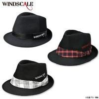 仮面ライダーW WIND SCALE ハット 布帛黒、赤チェックリボン、白チェックリボン
