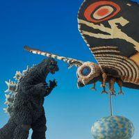 【抽選販売】東宝特撮ミュージアム モスラ(1964)&ゴジラ(1964)限定セット【送料無料】