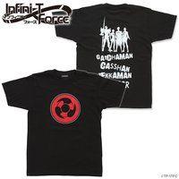 Infini-T Force(インフィニティ フォース)ロゴTシャツ(黒)テッカマン