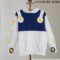 【STAND BY JOJO】ジョジョの奇妙な冒険 ザ・ハンド パーカー